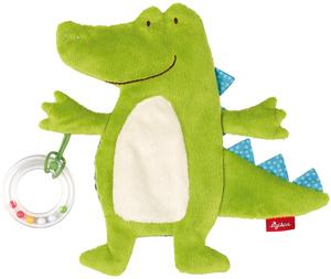 Sigikid Aktiv-Kuscheltuch Krokodil 41880