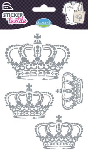 AladinE Textilsticker Kronen Glitzer SV 41411A1