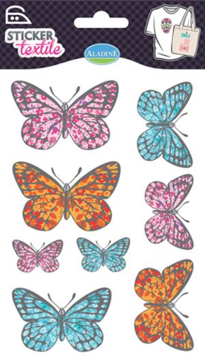 AladinE Textilsticker Schmetterlinge SV 41419