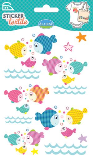 AladinE Textilsticker Fische SV 41430