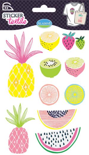 AladinE Textilsticker Früchte SV 41432