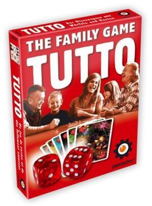 Game Factory Tutto, d/f/i 2-10 Spieler, ab 8 Jahren, Spieldauer 30 Min. Abacus;8941