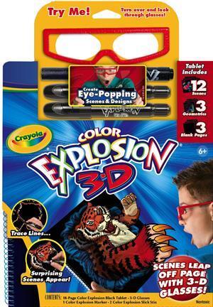 Crayola Color Explosion 3D SALE 3612597