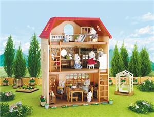 Sylvanian Families 3 Story House (Cedar Terrace) 2745