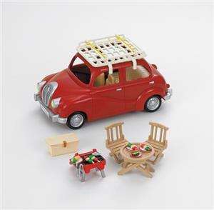 Sylvanian Families Roof Rack with Picnic Set 2884