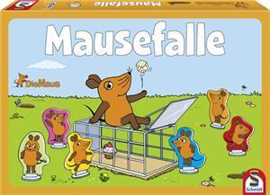 Schmidt Spiele Die Maus, Mausefalle (mult.) 40505A1