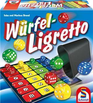 Schmidt Spiele Würfel-Ligretto (mult.) 4049611