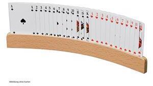 Philos Spielkartenhalter, aus Holz 6693