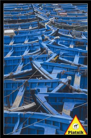 Piatnik Blaue Boote 1000 Teile SV 56854