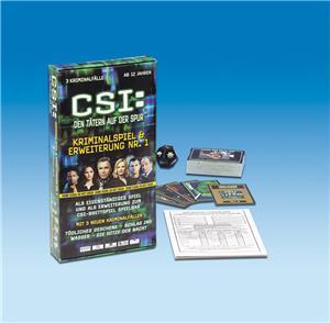 Piatnik CSI: Kriminalspiel, Erweiterung Nr.1 SALE 64409