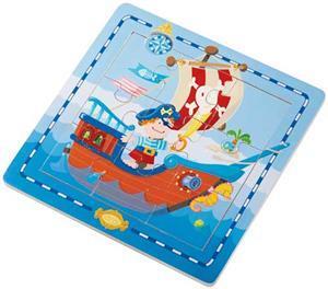 HABA Entdecker-Puzzle Piratenschiff 703914