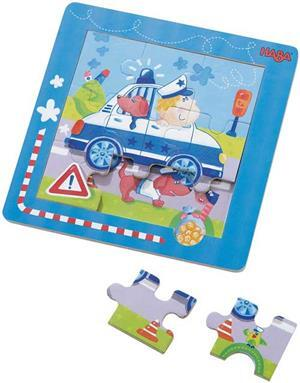 HABA Entdecker-Puzzle Polizei 703917
