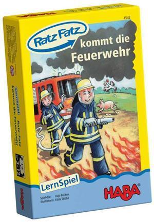 HABA Mini Ratz-Fatz kommt die Feuerwehr (d) 4542