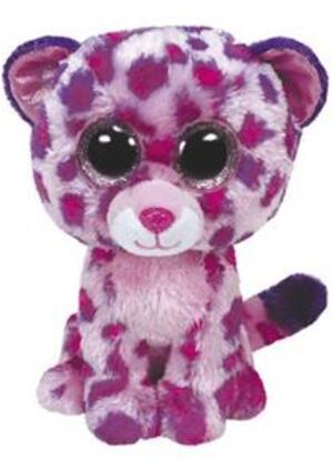 TY Glamour,Leopard pink Large 24cm SV 36985