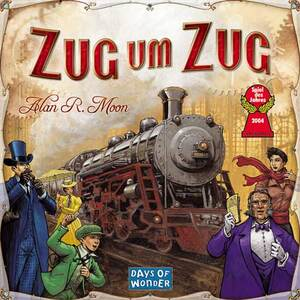 Days of Wonder Ticket to Ride - Spiel des Jahres 2004 (d) 61070615