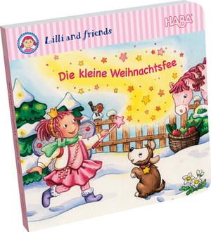 HABA Weihnachtsglitzerbuch - Die kleine Weihnachtsfee (d) SV