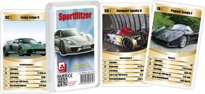 Nürnberger-Spielkarten-Verlag Quartett - Sportflitzer (d) 1246A1