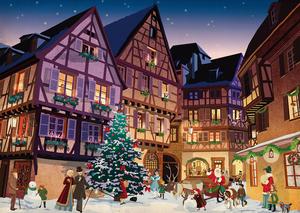 Piatnik Vintage Christmas Village, 1000 Teile** 544248