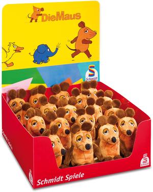 Schmidt Spiele Die Maus, 12 cm ** , eine wird geliefert 42601