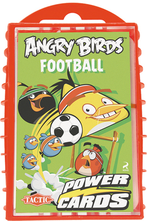 Tactic Games Angry Birds FOOTBALL Power Cards (mult.) SALE 52904
