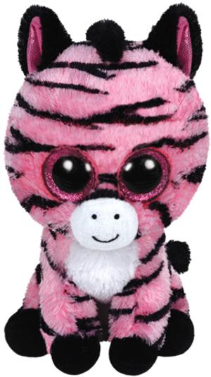 TY Zoey,Zebra pink 15cm 36147