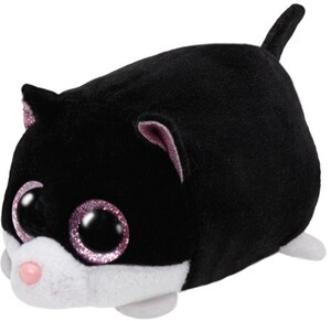 TY Cara,Katze schwarz/weiss 10cm 42219A1