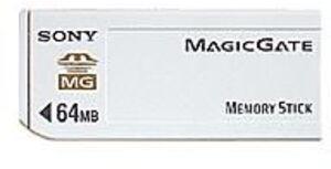 SONY SONY memory stick MSG64A 64MB MSG64A