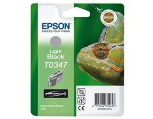 EPSON Ink, light black C13T03474020