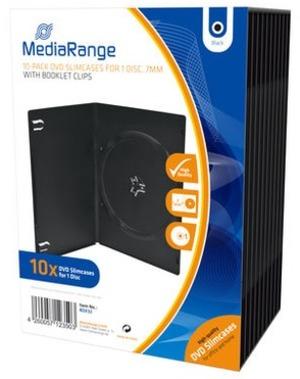MediaRange DVD Ersatzhüllen Slimbox, für 1 DVD-Medien BOX33