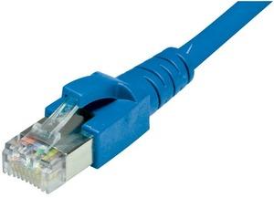Dätwyler Cabling Solutions Dätwyler Patchkabel: S/FTP, 1m, blau C6-SFTP-1-BL