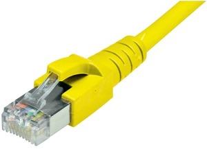 Dätwyler Cabling Solutions Dätwyler Patchkabel: S/FTP, 1m, gelb C6-SFTP-1-GB