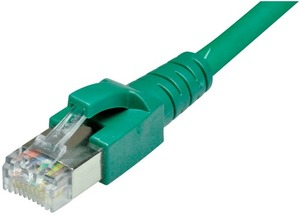 Dätwyler Cabling Solutions Dätwyler Patchkabel: S/FTP, 3m, grün C6-SFTP-3-GN