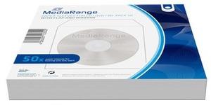 MediaRange CD/DVD Papierhüllen mit Sichtfenster BOX65
