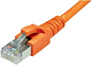 Dätwyler Cabling Solutions Dätwyler Patchkabel: S/FTP, 15m, orange 181220