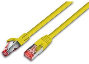 Wirewin Patchkabel: S/FTP 4m gelb PKW-PIMF-KAT640GB