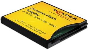 Delock 61796 CF Adapter für SD/MMC Cards DeLock;61796
