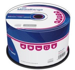 MediaRange CD-R 52x 80Min/700MB 50-Spindel MR207