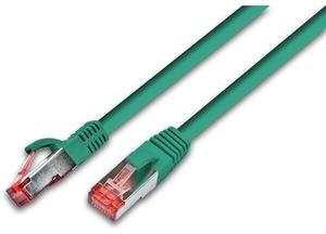 Wirewin Patchkabel: S/FTP, 0.5m, grün PKW-PIMF-KAT6A05GN
