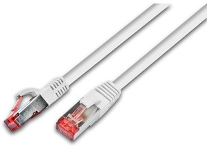 Wirewin Patchkabel: S/FTP, 5m, weiss PKW-PIMF-KAT6A50WS