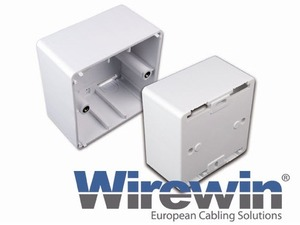 Wirewin Aufputzrahmen für LD UP Keystone Datendose TKS-APRWS
