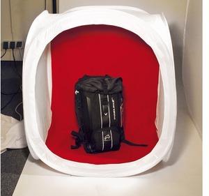 Dörr Aufnahmebox faltbar 90x90cm weiss 373392