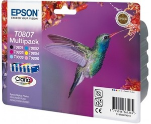 EPSON Epson Ink Cartridge Multipack T080740