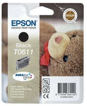 EPSON Epson Ink DuraBrite, black T061140