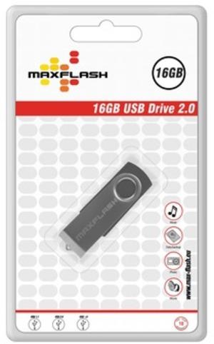 MAXFLASH Standard USB Drive 16GB PD16GM-R