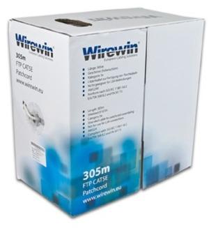 Wirewin Patchkabel: F/UTP, 305m VKBOXKAT5EPATCH3050