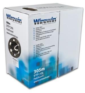 Wirewin Patchkabel: S/FTP, PIMF, 305m VKBOXKAT6PATCH3050