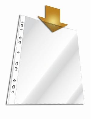 DURABLE Prospekthülle A4 Premium 2676