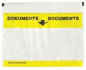 Elco Quick Vitro Dokumententasche gelb, 2900100
