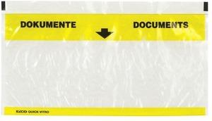 Elco Quick Vitro Dokumententasche gelb, 2900300