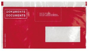 Elco Quick Vitro Dokumententaschen rot, 2902380
